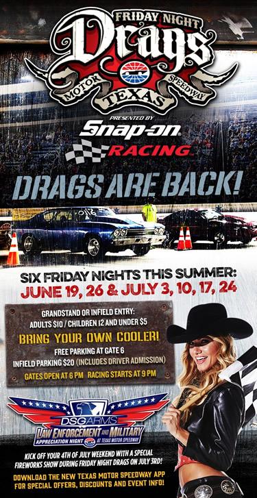 Cadillac v club texas motor speedway fright night drags for Texas motor speedway drag racing