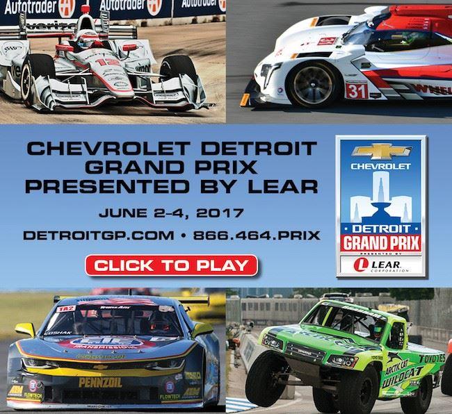 Turnersville Cadillac: Chevrolet Detroit Grand Prix