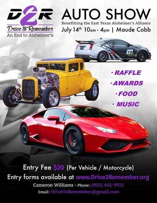 Cadillac VClub Drive To Remember Charity Car Show - Car show in san antonio tx