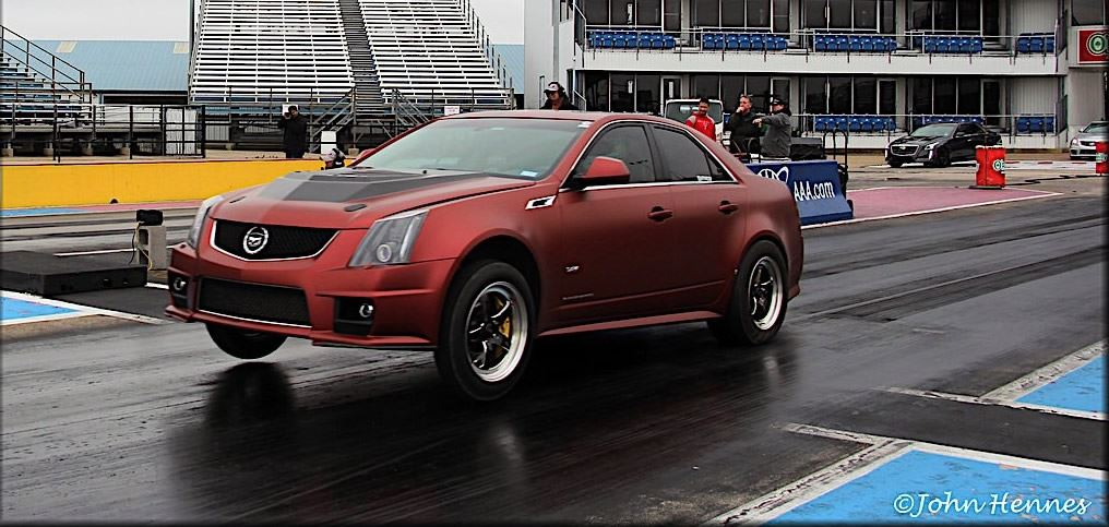 Cadillac V-Club - Drag Racing News