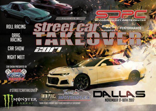 Cadillac VClub Street Car Takeover Dallas - Twin peaks car show